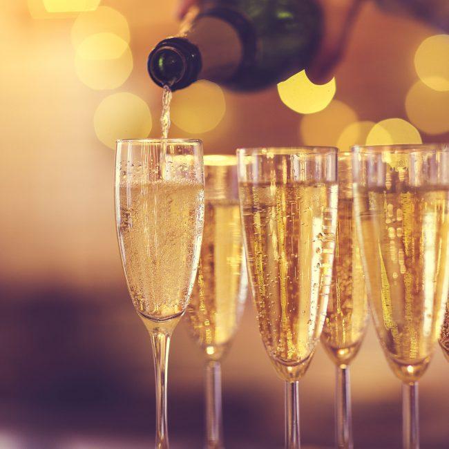 Champagne-Abend: ça pétille!