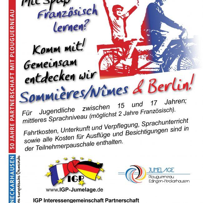 Tandem-Sprachaufenthalt in Berlin und Sommières/Nîmes