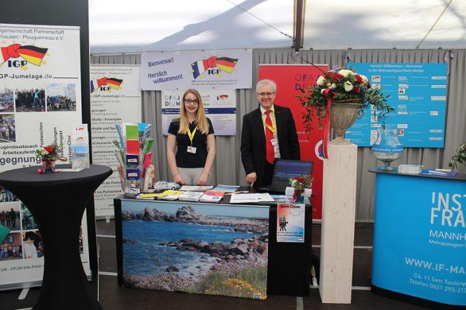 DFJW Infopunkt Rhein-Neckar