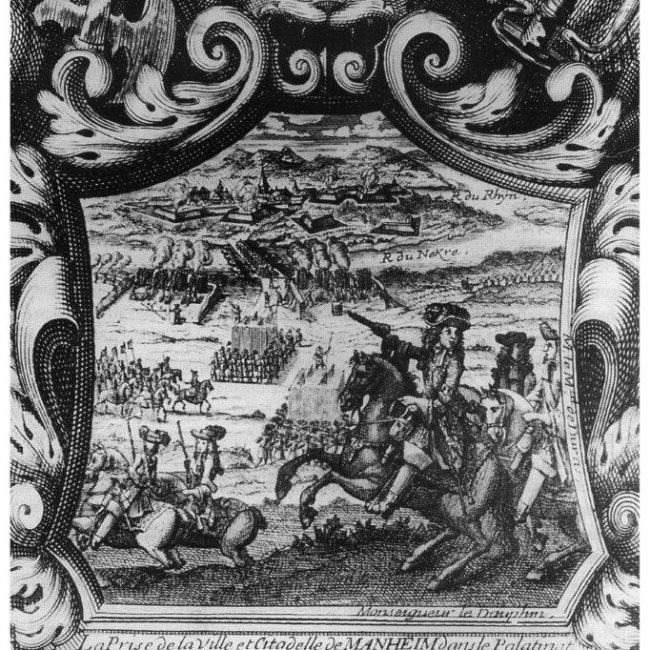 Die Franzosen in Mannheim – Mach kei Fisimatente