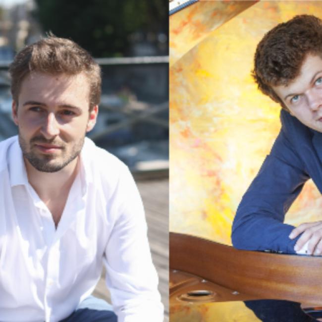 Literarischer Klavierabend: Lennart Felix & Théophile Choquet