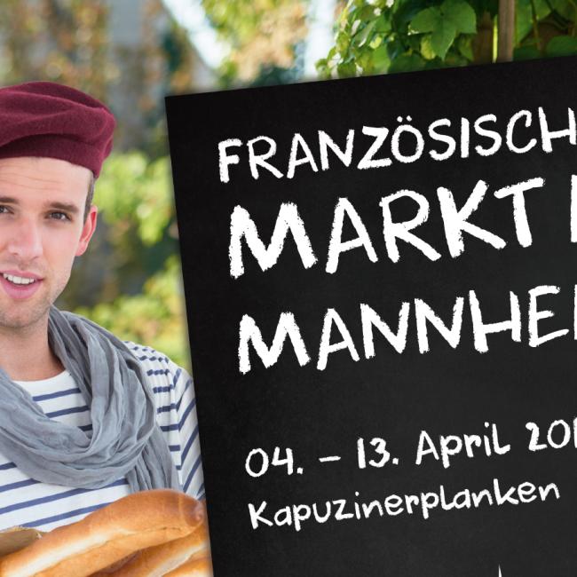 Das Institut Français zu Gast auf dem Französischen Markt Mannheim