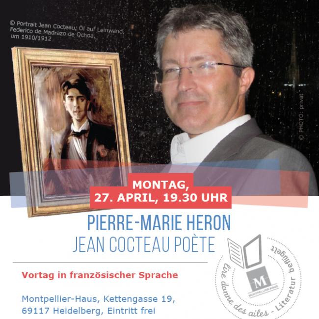 Pierre-Marie Heron: Jean Cocteau poète