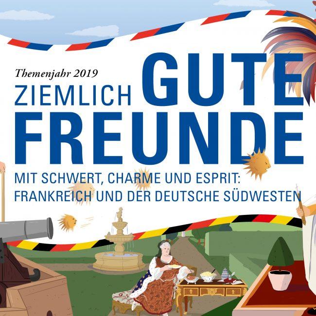 Picknickfest zum französischen Nationalfeiertag im Schloss Heidelberg