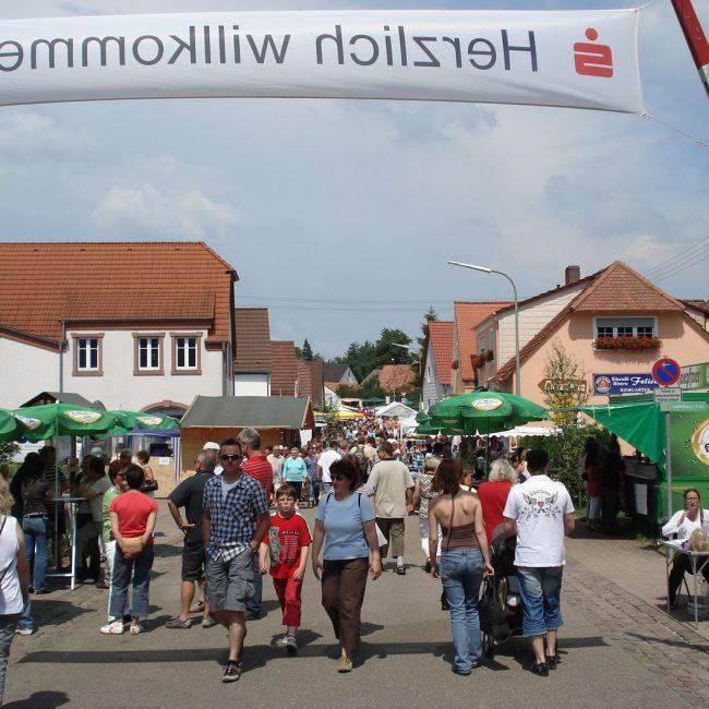 23. dt./fr. Brückenfest Scheibenhard(t)