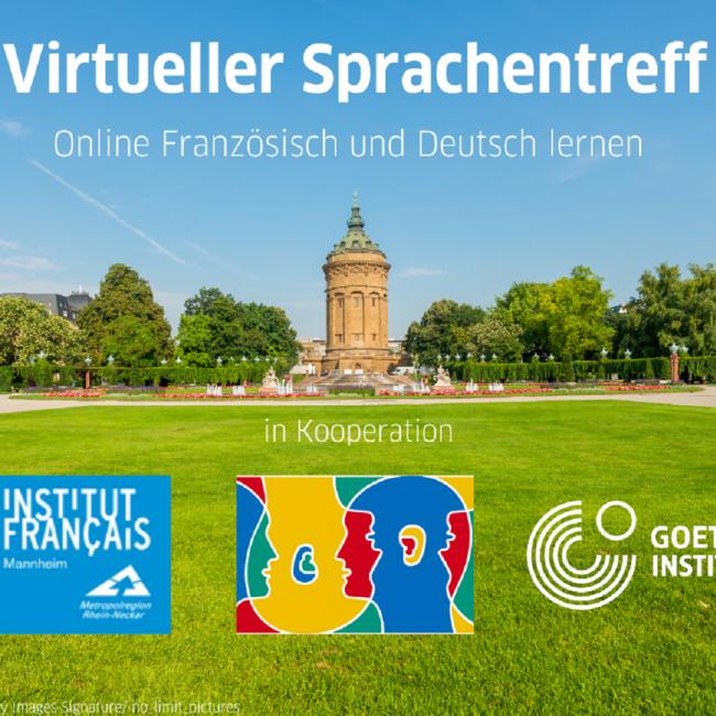 Virtueller Sprachentreff in Kooperation mit dem Goethe-Institut Mannheim