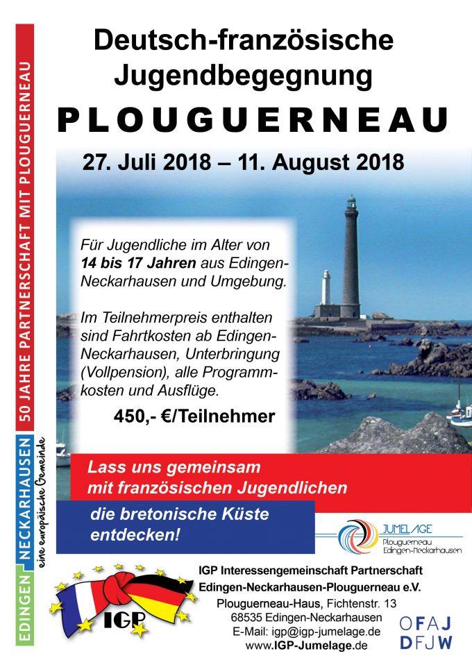 Jugendbegegnung in der Bretagne