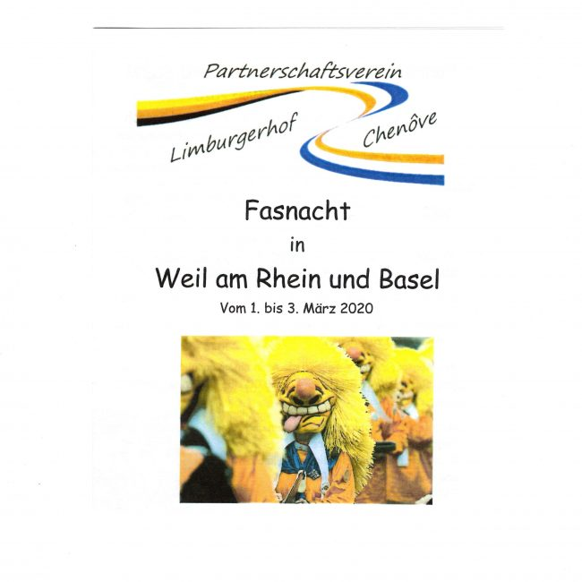 Fasnacht in Weil am Rhein und Basel