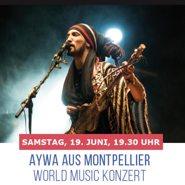 KONZERT von AYWA, WORLD MUSIC
