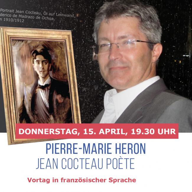 Vortrag: Pierre-Marie Heron, Jean Cocteau poète