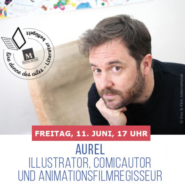 GERSPRÄCH MIT AUREL (Zeichner, Illustrator und Regisseur des Films Josep)