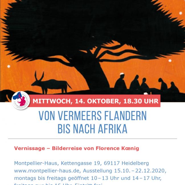 Vernissage – Von Vermeers flandern bis nach Africa